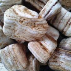 Декоративный камень природный натуральный галька / Angel Sparks-Sherry pebbles / Турция / 5-10 см.